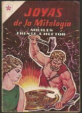 Joyas De La Mitologia Aquiles Nº 4 Comic Spanish Mexican Novaro
