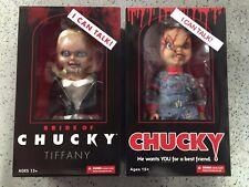 """15"""" Mezco """"Bride of Chucky"""" Talking Tiffany and Chucky Doll**NEW**"""