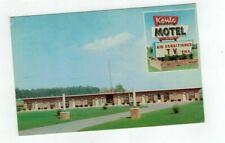 PA Middletown Pennsylvania vintage post card Kenlo Motel