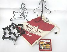 William Sonoma Christmas North Pole Pancake Molds NWT Reindeer Gingerbread