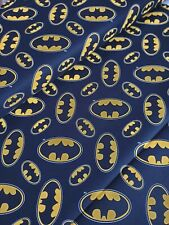 Justice league Batman Logo DC Comics 100% cotton fabric Fat Quarter