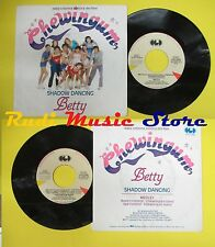 """LP 45 7"""" Betty Shadow Dancing Wrappers Band... 1984 Italy CDG No CD MC dvd"""