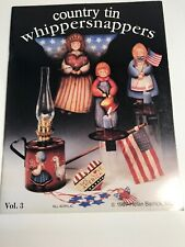 Country Tin Whippersnappers 3 American patriotic tole painting toll pattern book