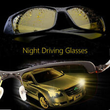 HD Optic Night Vision Driving Anti Glare Glasses UV Wind Protection Eyeglasses