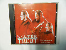 Face The Music - Live on Tour - Walter Trout  - 9  Tracks-  CD  PRD 71212