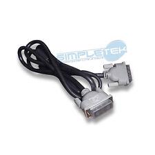 Cavo DVI-D 1,5 MT 24+1 Maschio-Maschio Single Link Oro Video Cable Monitor PC