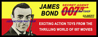 Gilbert Toys James Bond 1965 Large Size Poster Advert Shop Display Sign Connery
