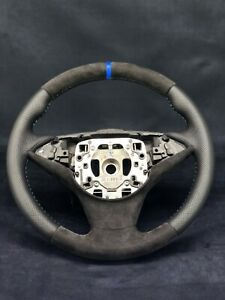 BMW E60 E61 E63 E64 M5 M6 Steering Wheel Sport Alcantara Leather Pre Lci Sport