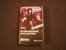 BLUES SARACENO - Never Look Back - 1992 Cassette / Prog Guitar Hard Rock