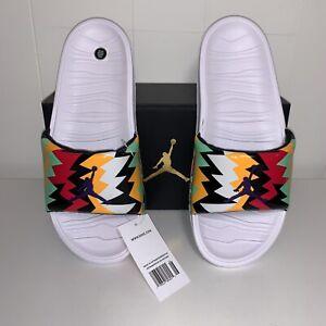 NEW Nike AIR Jordan Break Slide White Multi Hare bugs Bunny size 11 DS sandal