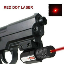 Compact Picatinny Rail Red Laser Sight Fit For Crossbow Rifle Gun Pistol Glock