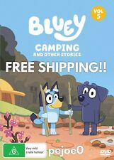 Bluey Volume 5 Camping And Other Stories DVD Reg 4 FREE POST! (2018) New!