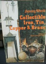 Antique reference book, Antique Brass, Copper, Iron & Tin Paperback - Pre-owned