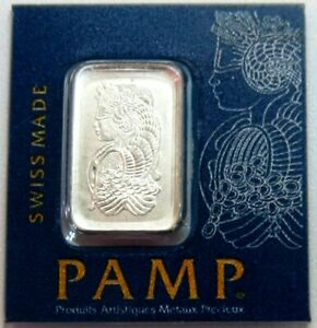 PAMP SUISSE PLATINUM 1 GRAM FORTUNA BAR SEALED 1 G NEW WITH ASSAY CERTIFICATE