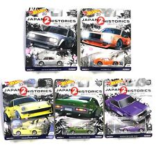 Hot Wheels Japan Historics 2  Set Datsun 510, Fairlady Z, Laurel, RX-3, Skyline