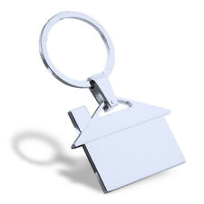 Cute House Room Building Keychain Key Ring Bag Pendant Gift Present Accessories