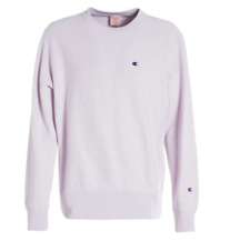 Champion Europe Reverse Weave Classic Crew Sweater - SMOKED LILAC/LAVENDER