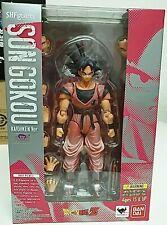 Sh Figuarts Dragon Ball Z Kaio-Ken Goku (World Tour) Tamashii Fast Shipping Usa