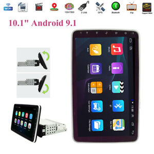 """Android 9.1 1DIN 10.1"""" HD Car Radio Stereo GPS MP5 Player WiFi Quad Core 2G+32G"""