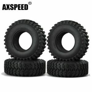 "1/4/5pcs 106MM OD Tire Tyre w/ Foam for RC 1/10 1.9"" Wheels Axial SCX10 Crawler"
