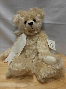 """15"""" KC and The Bears English Feather Mohair Handmade Teddy Bear """"Feather"""""""