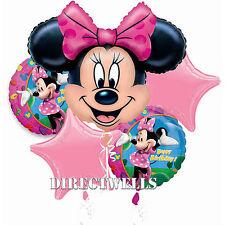 Disney Minnie Mouse Licensed Foil / Mylar Balloon Bouquet
