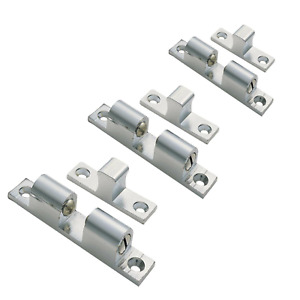 Chrome Double Adjustable Ball Catch 42mm 50mm or 60mm Cabinet, Cupboard