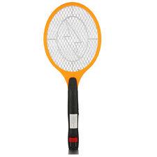 Elektrische Fliegenklatsche mit AKKU, Insekten Mücken Schläger WM-ABAO