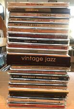 20 Jazz CD Lot Bundle Miles Davis Ella Fitzgerald Louis Armstrong Norah Jones