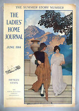 Ladies' Home Journal - June, 1914 -- Maxfield Parrish cover