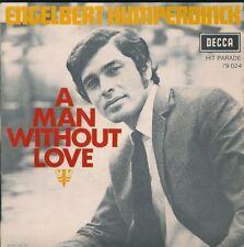 45 TOURS--ENGELBERT HUMPERDINCK-A MAN WITHOUT LOVE-1968