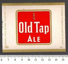 Beer Label - Haffenreffer Brewery - USA - Old Tap Ale