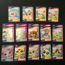 Littlest Pet Shop LPS Authentic Trading Card Fun Paks Stickers Tag Tokens Poster