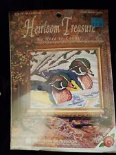 Heirloom Treasure Needlepoint Cross Stitch 5259 Wooden Ducks NEW in Package
