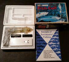 Vintage - Tr-Vii Fish Call - Sears - Ted Williams - Manual - Box - Vg