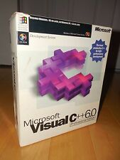 Microsoft Visual C++ 6.0 Professional MS VC6 C 6 Commercial Software Compiler
