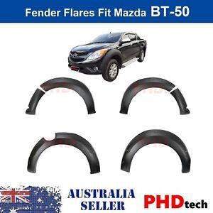 Wrinkle Matt Black Fender Flares Wheel Arch For  MAZDA BT-50  2011-2018 BT50