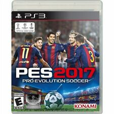 PS3 Pro Evolution Soccer 2017 PES 17 NEW Sealed REgion Free Futbol USA