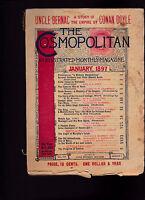Cosmopolitan Magazine A Conan Doyle Dixieland January 1897