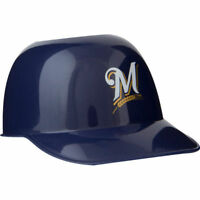 Milwaukee Brewers MLB 8oz Snack Size Ice Cream Mini Baseball Helmet Quantity 1