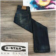 G-Star Raw Radar Straight Dark Wash Denim Cotton Jeans Mens Size 32x32 Italy