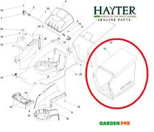 Genuine New Hayter Harrier 41 374 A 375 A 376 A tessuto grassbag 111-8549 - A850