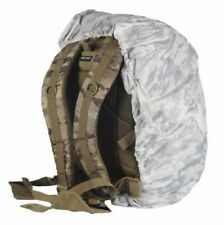White Winter Camouflaged Militaria Multicam Alpine Cover Backpack Case SMALL