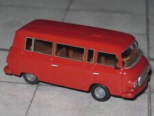 Brekina 30037 - Barkas B 1000 Bus - karminrot