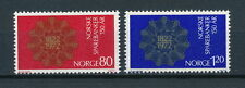 Norway 582-3 MNH, Savings Bank Anniversary, 1972