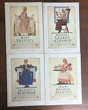 Lot 5 American Girl FELICITY Books 1-4 1 2 3 4 Meet Learns Lesson Surprise B-Day
