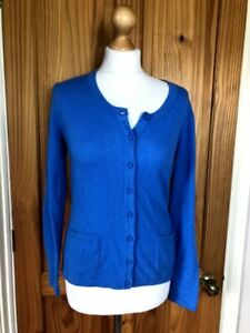 Seasalt Size 10 Blue Grey Seal Cardigan New with Tags