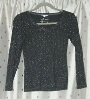 White Stuff ~ Charcoal Cotton Top ~ Size 10
