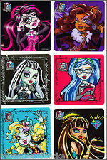 Monster High Stickers x 6 - Birthday Party - Monster High Birthday Party Favours