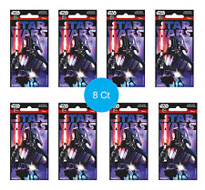 Star Wars Party Supplies Favours 8 JUMBO STICKERS Genuine